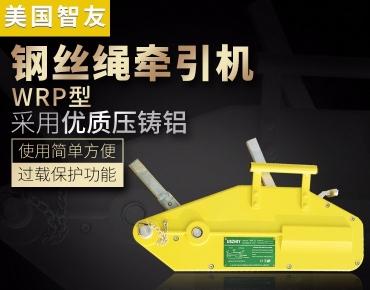 进口钢丝绳牵引机WRP
